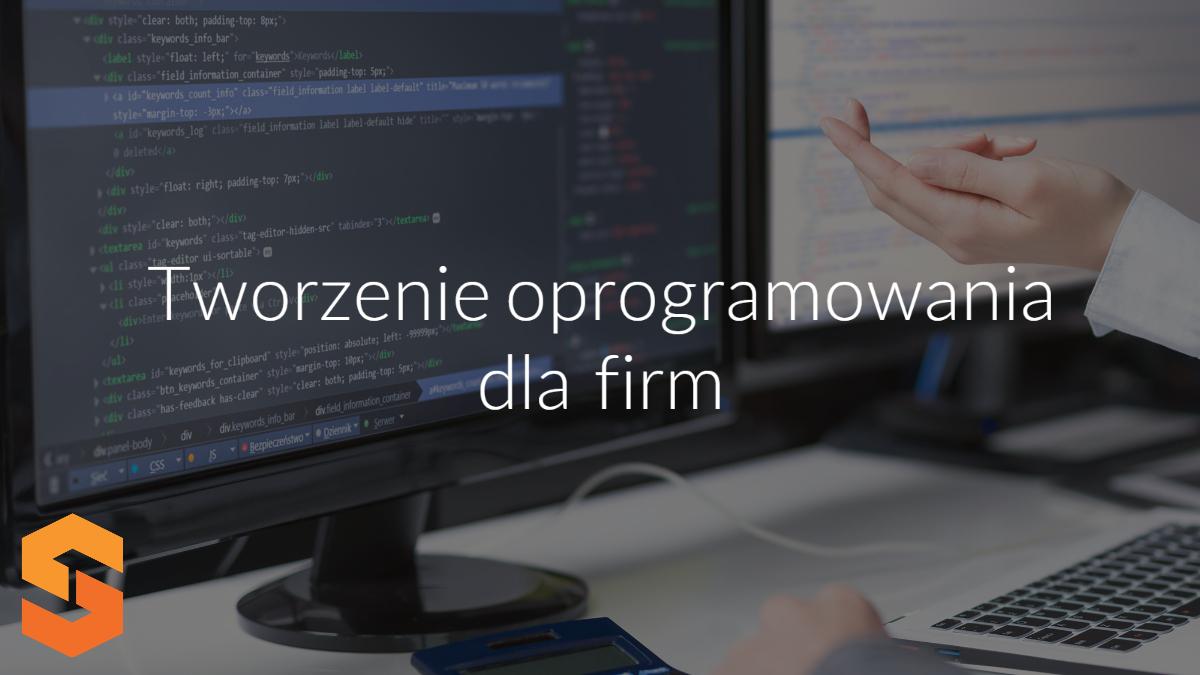 tworzenie oprogramowania dla firm